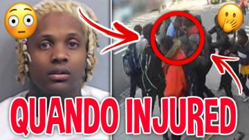 LIL DURK & GOONS Pull Up On QUANDO RONDO In Streets *LEAKED FOOTAGE*
