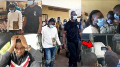 See the Moment Omah lay and Tems were Arrested and Dragged to Prison by Uganda police force!